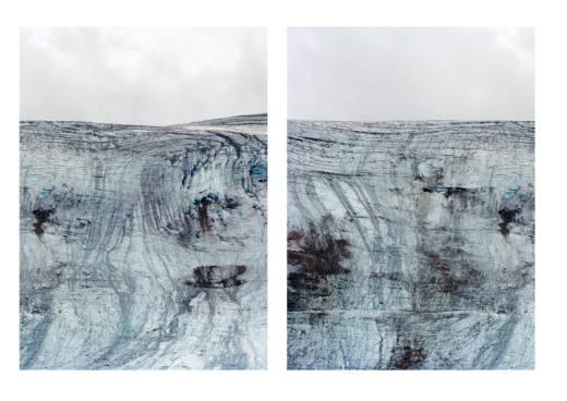 Rettenbachferner, Austria, 2014. Inkjet print. 187 x 147 cm. Cortesía del artista y Galería Helga de Alvear, Madrid @ Axel Hütte