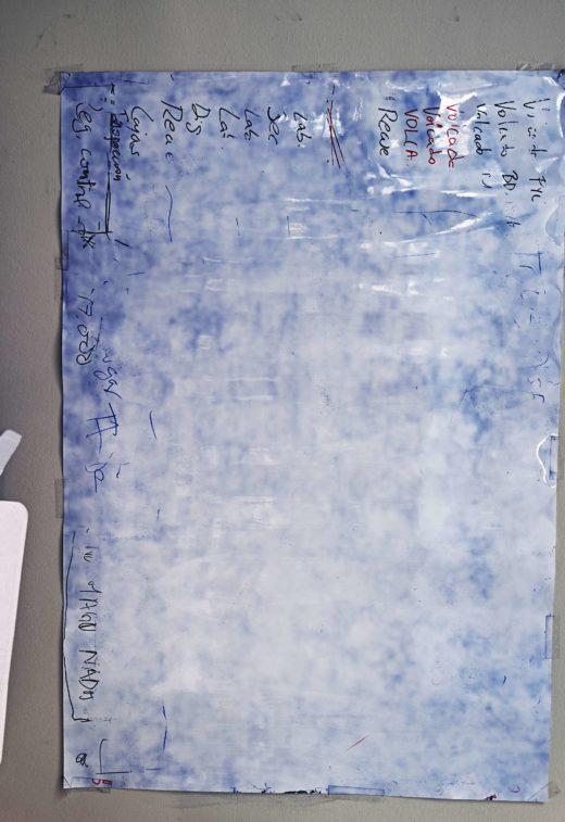 In Blue, 2015. C-Print. 83 x 64,2 cm
