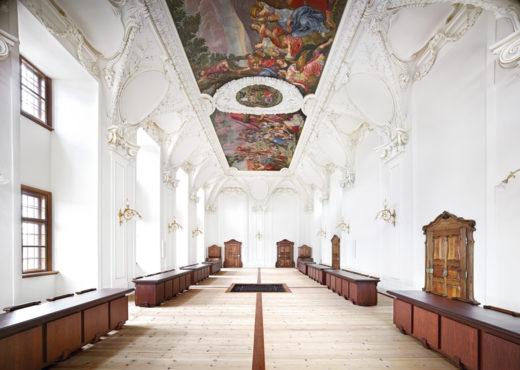 Benediktinerstift Kremsmünster III, 2014. C-Print. 180 x 240,8 cm