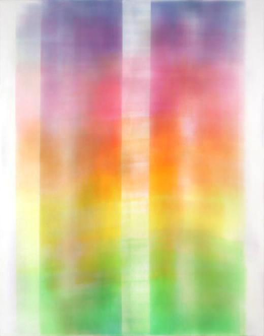 Pantocrátor, #11S, 2016. Acrílico sobre lienzo. 236x185 cm.