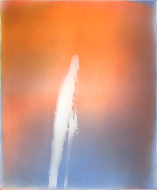 Sin título, #1A3, 2016. Acrílico sobre lienzo. 73x60 cm.