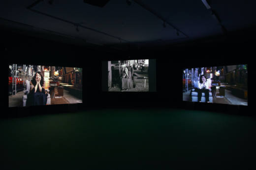 Lina Bo Bardi - A Marvellous Entanglement, 2019. Three screen installation, super HD, colour, 5.1 surround sound. Ed. AP 2/2 + 6