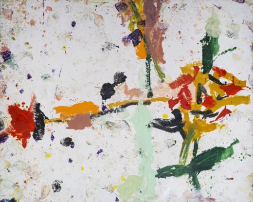 El eco de las flores I, 2020. Oil on canvas, 200 x 250 cm