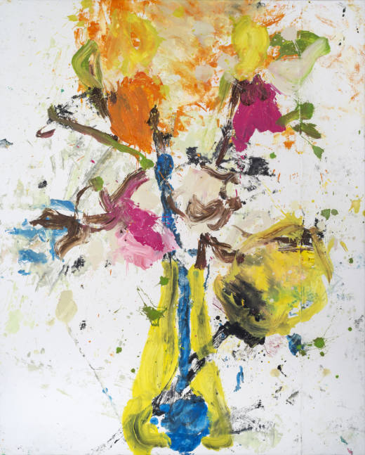 Miss Ikebana I, 2020. Oil on canvas, 200 x 160 cm